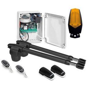 Kit automatizare poarta batanta Motorline LINCE 400 - 24V, 250 Kg/canat, 3 m/canat, 60 W imagine