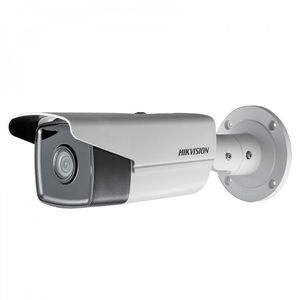 Camera supraveghere exterior IP Hikvision DS-2CD2T43G0-I8, 4 MP, IR 80 m, 2.8 mm imagine