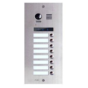 Videointerfon exterior modular DMR21-S8, 8 familii, ingropat, bloc imagine