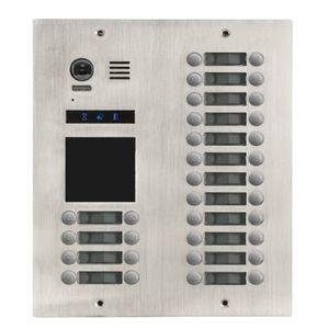 Videointerfon exterior modular DMR21-D32-F1, 32 familii, ingropat, bloc imagine