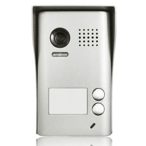 Videointerfon de exterior DT602SD-C-RH, 2 familii, aplicat, vila imagine