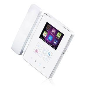 Videointerfon de interior IP-G24, aparent, 4 inch, intercomunicare imagine