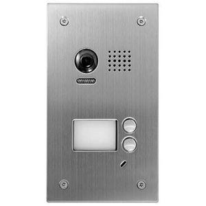Videointerfon de exterior DT603SDF/FE, 2 familii, ingropat, vila imagine