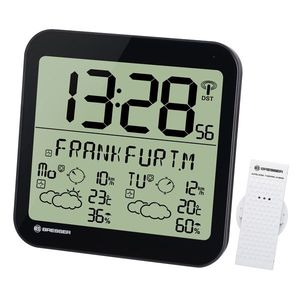 Statie meteo Bresser MyTime 7001900CM3000, termometru, higrometru, alarma imagine