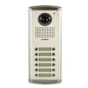 Videointerfon de exterior Commax DRC-12AC2, 12 familii, ingropat, bloc imagine
