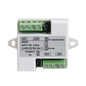 Distribuitor de semnal cu 2 ramuri DT-DBC2S, 2 fire, 24 Vcc imagine