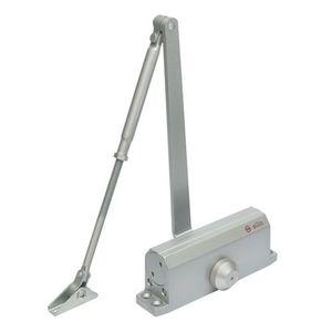 Amortizor hidraulic cu brat pentru usa SA-6033AW-sv, 40-65 Kg, argintiu, aluminiu imagine