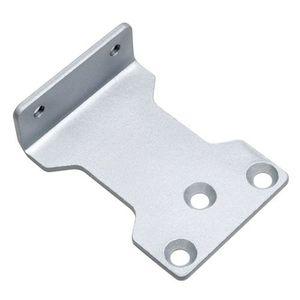 Suport amortizor hidraulic pentru usa PB-03, otel, argintiu imagine