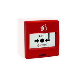 Buton de incendiu adresabil Bentel MCP-5A, 15 - 30 Vcc imagine