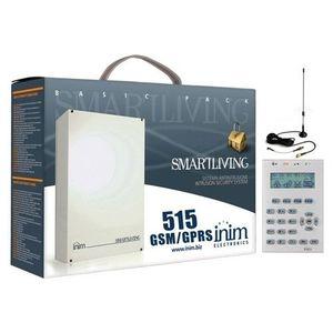Sistem de alarma antiefractie Inim KIT 515 GSM/GPRS, 10 zone, 30 coduri utilizator, GSM/GPRS imagine