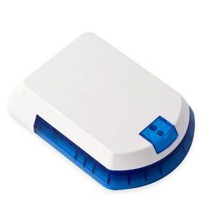 Sirena de exterior wireless cu LED Eldes EWS2-BLUE, 104 dB, RF 150 m, autonomie 18 luni imagine