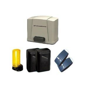 Kit automatizare poarta culisanta Powertech PL-400, 400 Kg, 5 m, 24 Vdc imagine