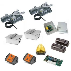 Kit automatizare poarta batanta Roger Technology Kit R21/362, 3.5 m/canat, 800 Kg/canat, 230 Vac imagine