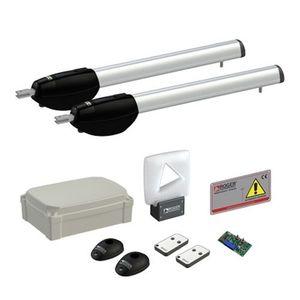 Kit automatizare poarta batanta Roger Technology Kit BE20/410, 4 m/canat, 230 V, 400 Kg imagine