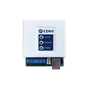 Convertor RS-485 la USB/RS-232 CDVI Centaur, conector RS-232 D-Sub 9 pini, 9.600/19.200 bps, indicator LED imagine