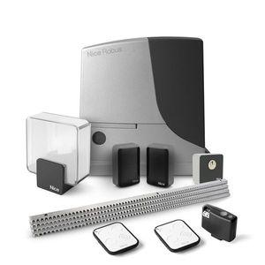 Kit automatizare poarta culisanta Nice ROBUSKIT RB600KCE FULL, 600 Kg, 230 Vac, 4 m cremaliera metalica imagine