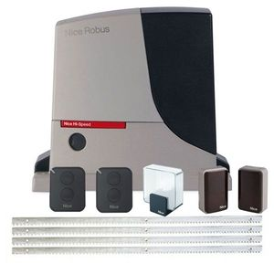 Kit automatizare poarta culisanta Nice Hi-Speed RB500HS FULL, 500 kg, 230 V, 8 m imagine