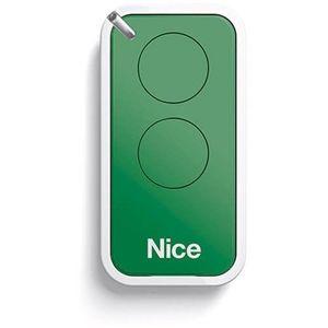Telecomanda Nice INTI2G, 2 canale, 433.92 MHz, verde imagine