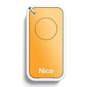 Telecomanda Nice INTI1Y, 1 canal, 433.92 MHz, galben imagine
