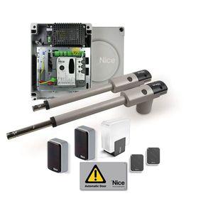 Kit automatizare porti batante Nice TOO3024KCER10, 3 m/canat, 300 Kg/canat, 24 V imagine
