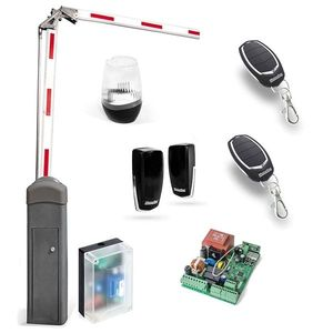 Kit bariera completa acces auto Motorline KBA5, 5 m, 230 Vac, IP 55 imagine