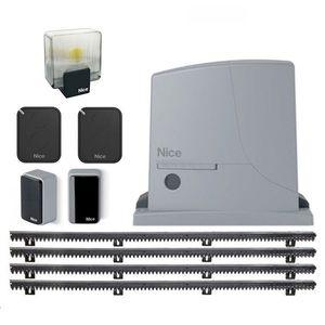 Kit automatizare poarta culisanta Nice ROX600KLT KIT, 600 Kg, 230 Vac, 5 m imagine