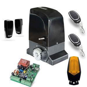 Kit automatizare poarta culisanta Motorline KIT OL1500, 110/230 V, 1500 Kg, 550 W, 15 m imagine