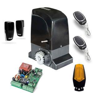 Kit automatizare poarta culisanta Motorline KIT OL2000, 15 m/canat, 2000 Kg, 1000 W, 110/230 V imagine