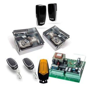 Kit automatizare poarta batanta Motorline SUBWING700, 2.5 m/canat, 230 Vac, 500 Kg/canat imagine