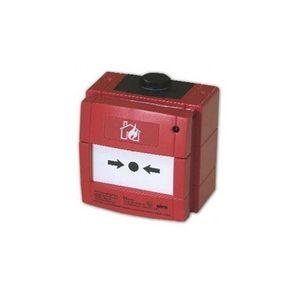 Buton de incendiu conventional ANTIEX Bentel MCP220EX, IP67, LED imagine