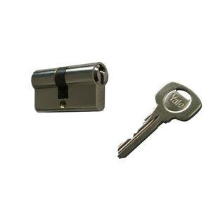 Cilindru de siguranta Standard Yale 500 A 01 FN, 3 chei, 5 pini, nichel imagine