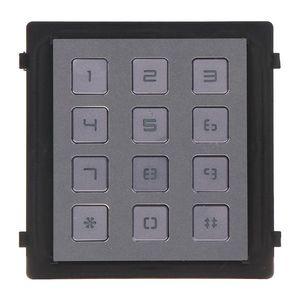 Modul tastatura pentru videointerfon HIKVISION DS-KD-KP, 12 butoane, aparent/ingropat, 12 V imagine