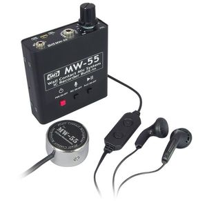 Microfon de contact (perete) cu reportofon Sun Mechatronics MW-55, 11 ore, 550 mAh, 2 GB imagine