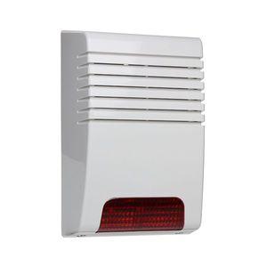 Sirena de exterior piezoelectrica cu flash JABLOTRON 100 JA-180A, wireless, 112 dB, 300 m imagine