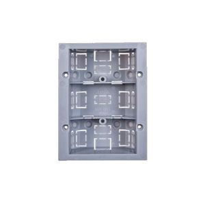 Cutie de montaj mica JABLOTRON 100 JA-193PL-BOX-S, compatibil detectori JA-111P imagine