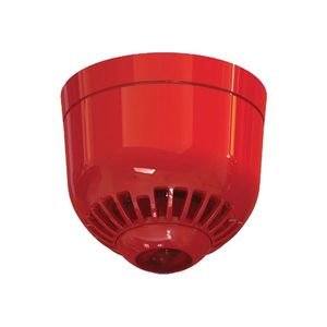 Sirena adresabila cu flash alimentata din bucla UTC Fire&Security ASC2366, 17-32 VDC, rosu, 97 dB imagine