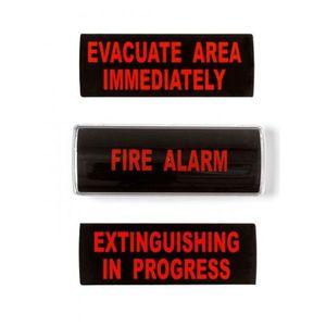 Indicator optic si acustic UTC Fire&Security GRP26-03, ilumininare LED, 90 dB, 24 Vcc imagine