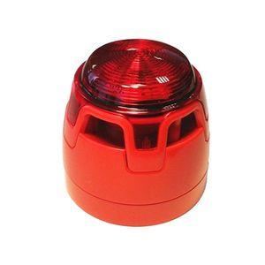 Sirena de incendiu conventionala cu flash KAC ENscape CWSS-RB-S7, aparent, 32 tonuri, 107 dB imagine
