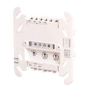 Modul interfata de monitorizare adresabil Bosch FLM-420-I2-E, 2 intrari, sina DIN, IP30 imagine