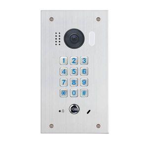 Videointerfon de exterior cu tastatura mecanica DT611F-MK-FE, 2 MP, ingropat, 170° imagine