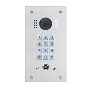 Videointerfon de exterior cu tastatura mecanica DT611-MK-FE, 2 MP, aparent, 170° imagine