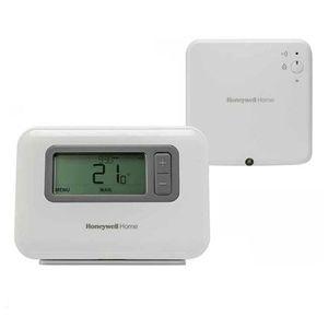 Termostat digital wireless programabil Honeywell Y3H710RF0072, Fuzzy logic, IP30, 30 m imagine