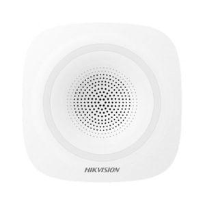 Sirena wireless cu flash de interior Hikvision DS-PSG-WI-868, 110 dB, 868 MHz, 800 m imagine