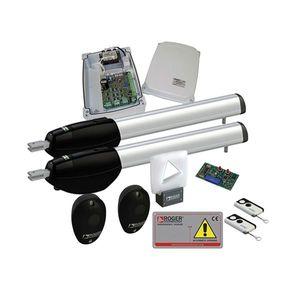 Kit automatizare poarta batanta Roger Technology KIT BE/210, 2.5 m, 300 Kg, 24 Vdc imagine