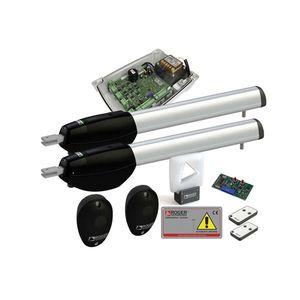 Kit automatizare poarta batanta Roger Technology KIT BE/211 HS, 2.5 m, 300 Kg, 230 V AC imagine