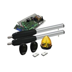 Kit automatizare poarta batanta Roger Technology KIT SMARTY 7, 7 m, 500 Kg, 230V AC imagine