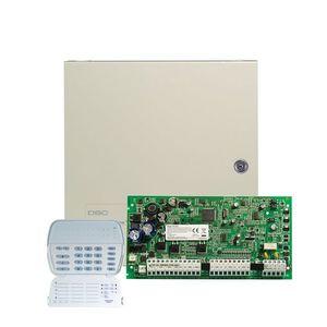 Centrala alarma antiefractie DSC Power PC 1616LED16Z cu tastatura PK5516, 2 partitii, 6 zone, 48 coduri utilizatori imagine