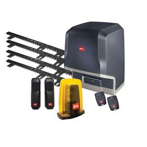 Kit automatizare porti culisante BFT ICARO-SMART-2000-230V-4XCREMALIERE, 2000 Kg, 230 V, limitator electromagnetic imagine