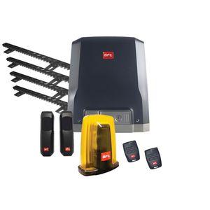 Kit automatizare porti culisante BFT DEIMOS-AC-800-SL-DN-4XCREMALIERA, 800 Kg, 230 V, limitator electromecanic imagine