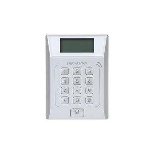 Cititor de proximitate cu tastatura IP Hikvision DS-K1T802E, PIN/card, EM, 3.000 carduri, 10.000 evenimente imagine